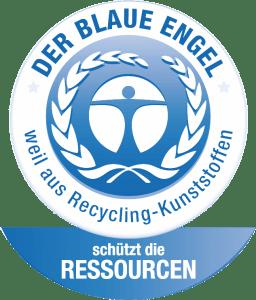 Blauer Engel für Recycling Kunststoffe